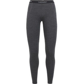Icebreaker W's 260 Winterzone Leggings Jet Heather/Black/Snow
